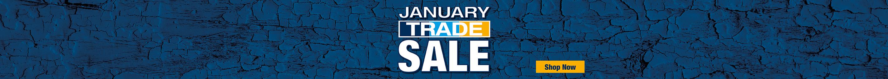 January Trade Sale