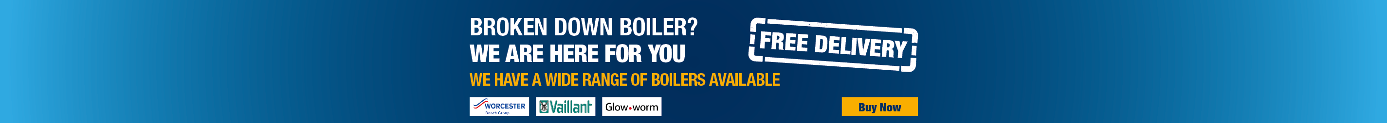Free Delivery On Our Wide Range Of Boilers
