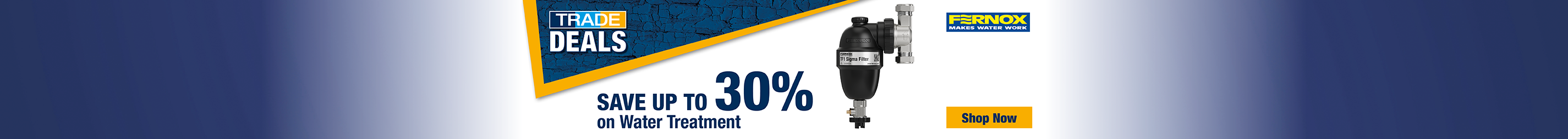 Save up to 30% Water Treatment