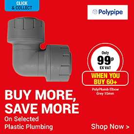 Buy More, Save More on Selected Plastic Plumbing