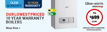 Our Lowest Priced 10 Year Warranty Boilers
