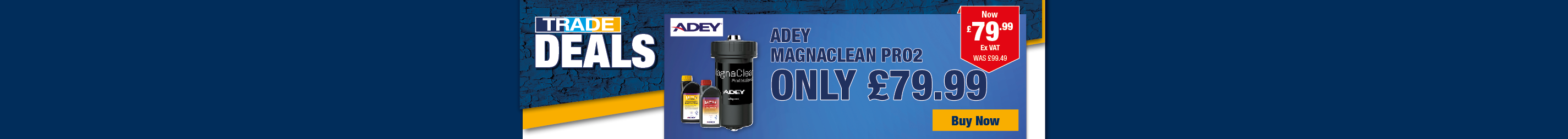 Adey Magnaclean only £79.99