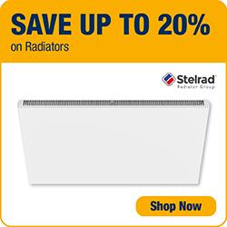 Save up to 20% on Radiators