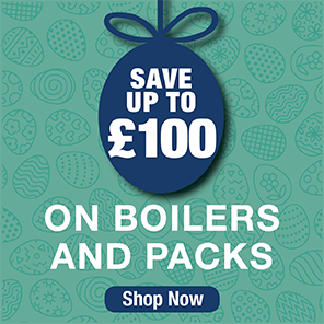 Save up to £100 on Boilers and Packs