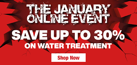 Save up to 30% on Water Treatment