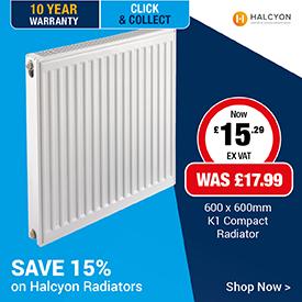 Save 15% on Halcyon Radiators