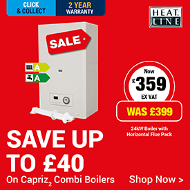Save up to £40 on Heatline Boilers