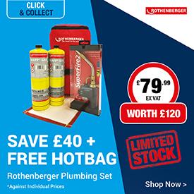 Save on Rothenberger Hot Bag Set