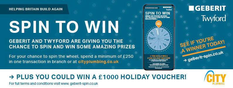 Geberit Spin to Win