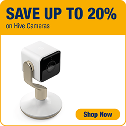 Save up to 20% on Hive Cameras