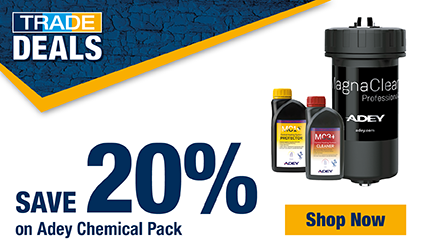 Save 20% on Adey Chemical Pack
