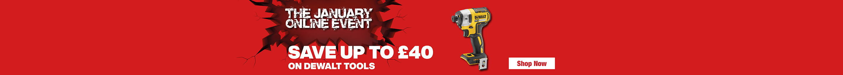 Save Up to £40 on Tools