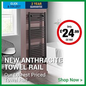New Anthracite Towel Rails