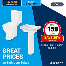 Great Prices on Bathroom Suites