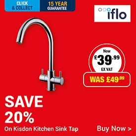Save 20% on Kidson Kitchen Tap