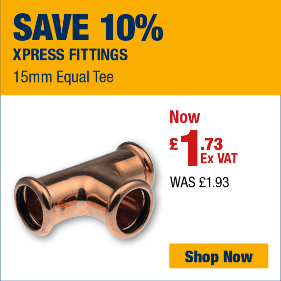 Save 10% on Xpress Fitings