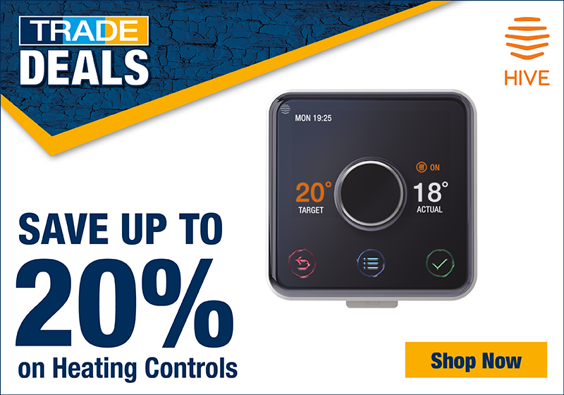 Save up to 20% on Heating Controls