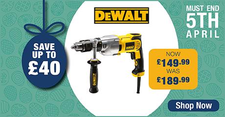 Save up to £40 on DeWalt