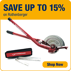 Save Up To 15% on Rothenberger