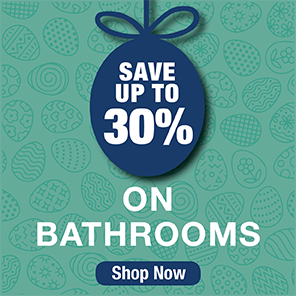 Save up to 30% on Bathrooms