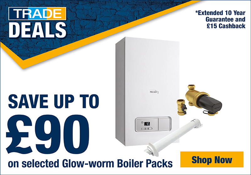 Save up to £90 on Boiler Packs