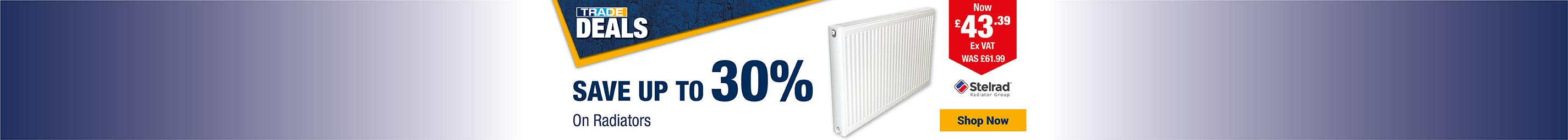 Save Up To 30% On Radiators