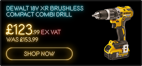 DeWalt 18V XR Brushless Compact Combi Drill only £123.99