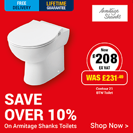 Save 10% on Armitage Shanks Commerical Toilets