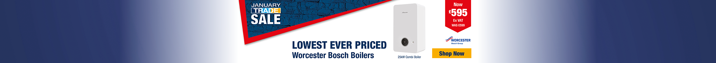 Lowest Ever Priced Worcester Bosch Boilers