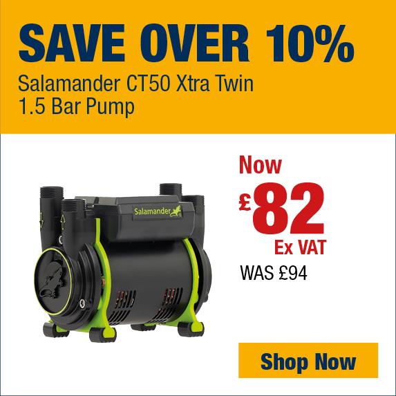 Save Over 10% on Salamander Shower Pump