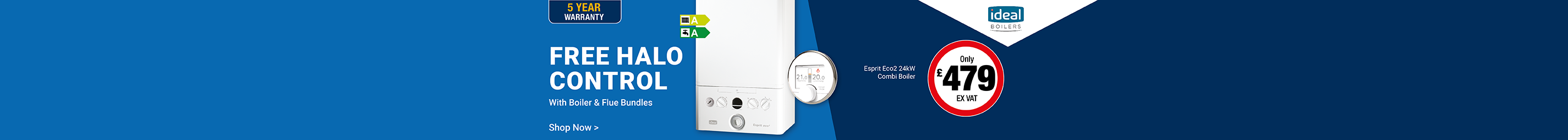 Free Control with Esprit Boiler, Flue & Filter Bundles