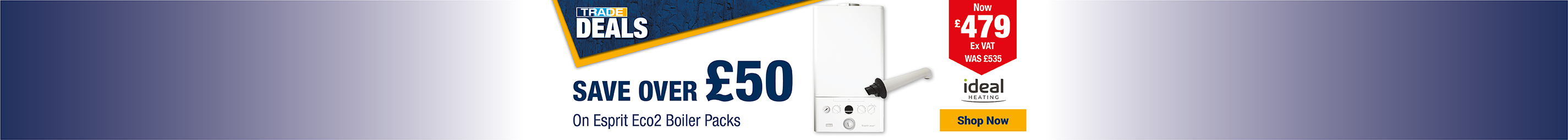 Save Over £50 on Boilers
