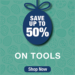 Save up to 50% on Tools