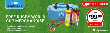 Free Rugby World Cup Merchandise on Rothenberger