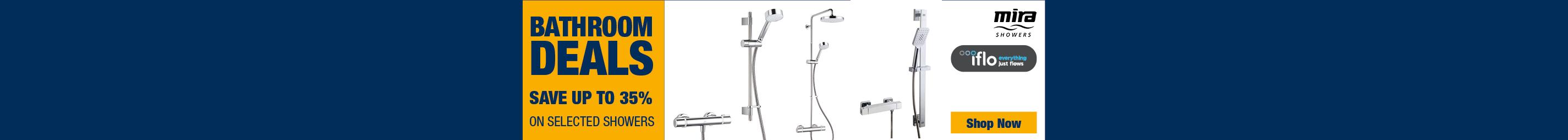 Amazing Showers & Bathroom Deals